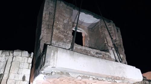 Eyyubi Camii 8 parça halinde yeni yerine taşınıyor