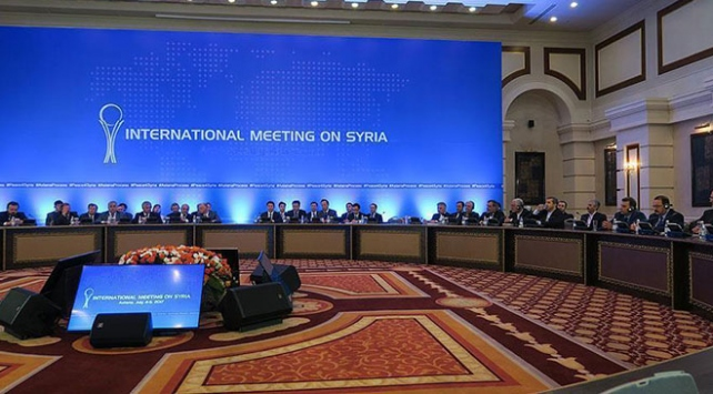 Astanada Suriye konulu 11. garantörler toplantısı