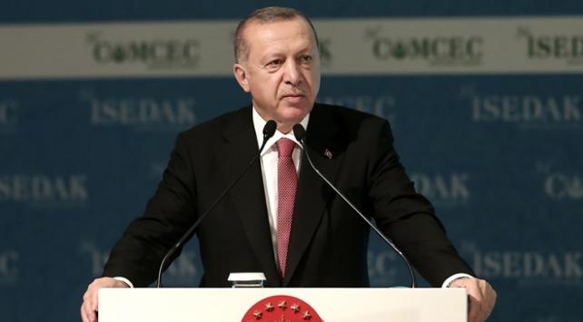 Cumhurbaşkanı Erdoğan: Kur baskısından kurtulmak için yerli paramızı kullanalım