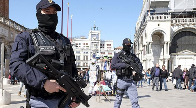 İtalyada mafyaya karşı operasyon