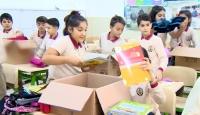 Nuri Bakırcı Ortaokulu doğudaki öğrencilere yardım gönderiyor