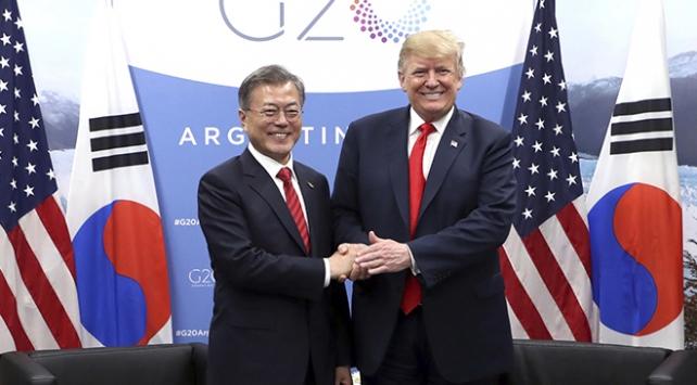 Güney Kore Devlet Başkanı Moon: Trump, Kimi seviyor, isteklerini yerine getirecek