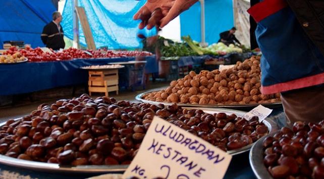 Bursada yetişmeyen ürünleri köylü pazarında satmak yasak