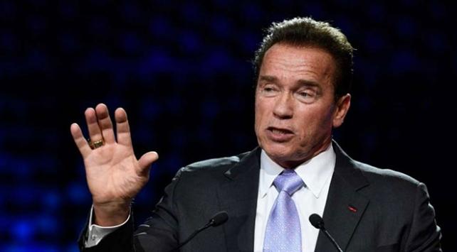 Arnold Schwarzeneggerden Trumpa tepki