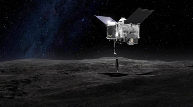 NASAnın uzay aracı gök taşı Bennuya ulaştı