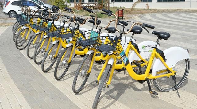 """""""Malatya Bisiklet""""i 8 ayda 16 bin kişi kullandı"""