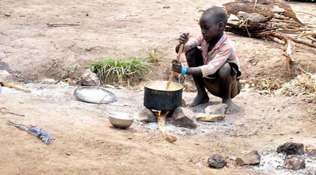 Nijeryada 35 milyon çocuk açlıkla boğuşuyor