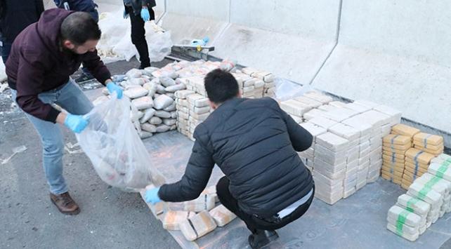 Erzincanda 1 ton 271 kilogram eroin ele geçirildi