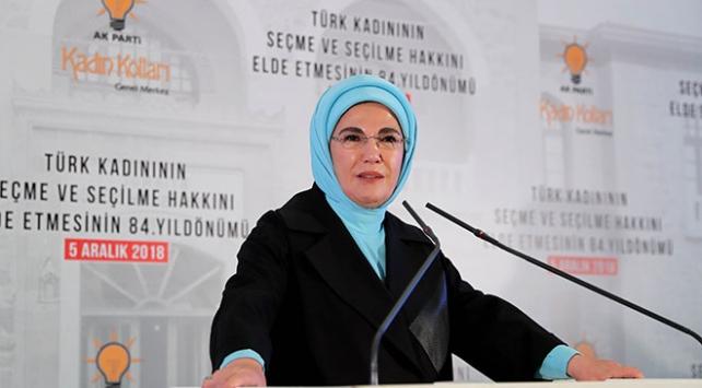 Emine Erdoğan: Kadın zevkinin yansımasını şehirlerimizde görmeliyiz