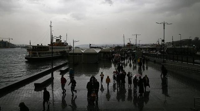 Marmarada sıcaklıklar azalıyor