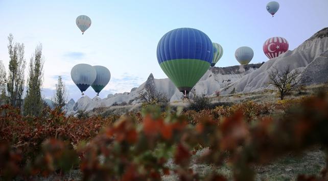 Kapadokyayı geçen ay 203 bin 905 turist gezdi