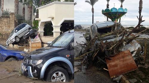 Kuzey Kıbrıs Türk Cumhuriyeti'nde şiddetli yağış can aldı