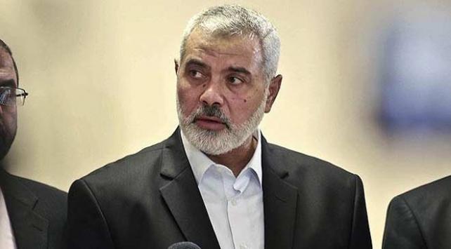 Haniye, Katarın Gazzeyi Yeniden İmar Komitesi Başkanı İmadi ile bir araya geldi