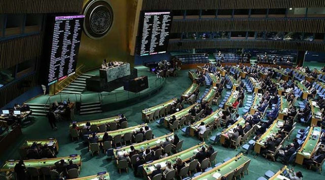 BM Genel Kurulu, ABDnin karar tasarısını reddetti