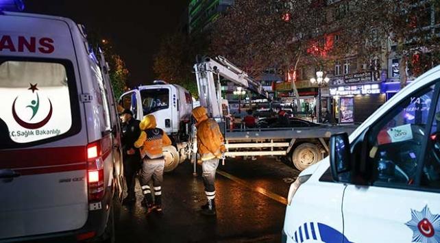 Ankarada trafik kazaları: 4 yaralı