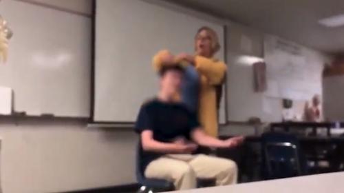 Öğrencisinin saçını zorla kesen öğretmen tutuklandı
