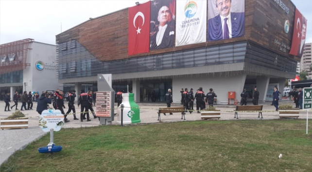 Çukurova Belediyesinde silahlı saldırı
