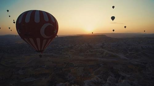 Türkiyenin dağları havadan görüntülendi