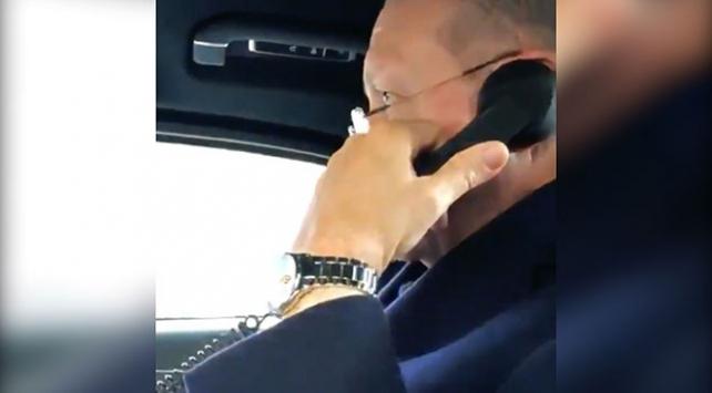 Cumhurbaşkanı Erdoğan, kendisine mektup yazan öğrenciye telefon açtı