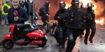 Fransadaki gösterilerde 17si polis 118 kişi yaralandı