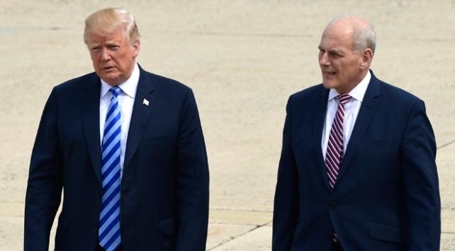 Trumpın Özel Kalem Müdürü Kelly yıl sonunda görevinden ayrılacak