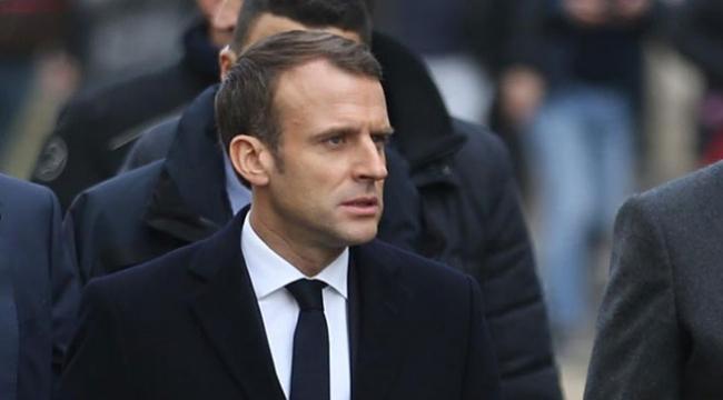 """Fransa Cumhurbaşkanı Macron, """"Sarı Yelekliler"""" ile görüşecek"""