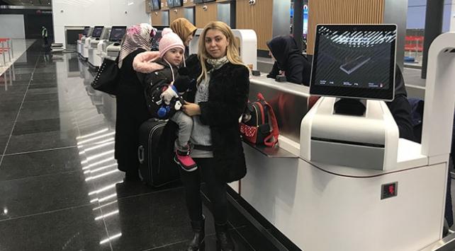 THY, İstanbul Havalimanından Trabzona ilk uçuşunu yaptı