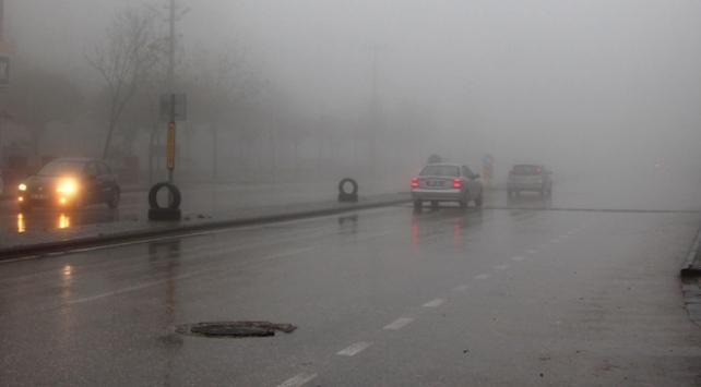 Gaziantep, Kilis ve Şanlıurfada yoğun sis etkili oldu