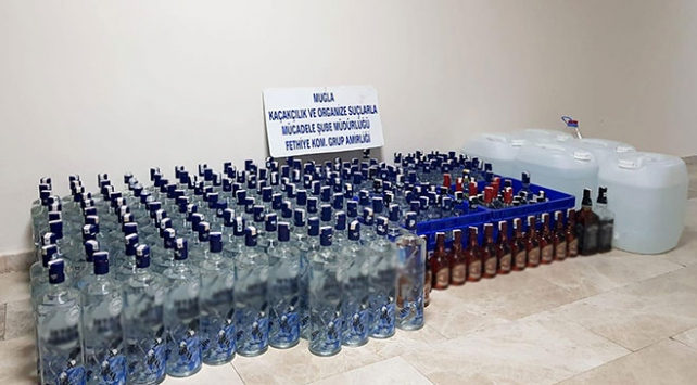 Yılbaşı öncesi sahte içki operasyonu