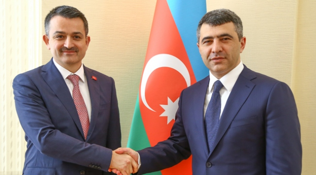 Türkiye ve Azerbaycan tarımsal iş birliğini geliştirecek