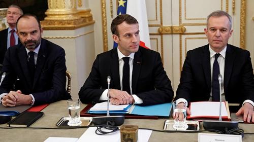 Fransa Cumhurbaşkanı Emmanuel Macron halka hitap edecek