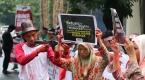 Endonezyada Myanmar karşıtı protesto