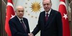 Cumhurbaşkanı Erdoğan-MHP Genel Başkanı Bahçeli görüşmesi