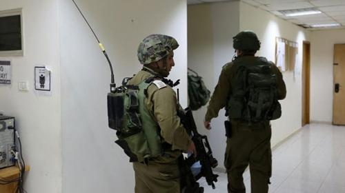 İsrail güçlerinden Filistin resmi haber ajansı WAFAya baskın