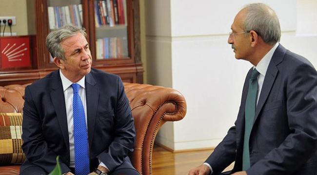 CHP Genel Başkanı Kılıçdaroğlu, Mansur Yavaş ile görüştü