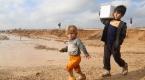 Musuldaki kamplarda barınan iç göçmenler