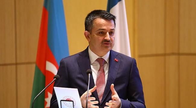 Bakan Pakdemirli: Türkiye ve Azerbaycan bölgenin refahından daha fazla pay almalı