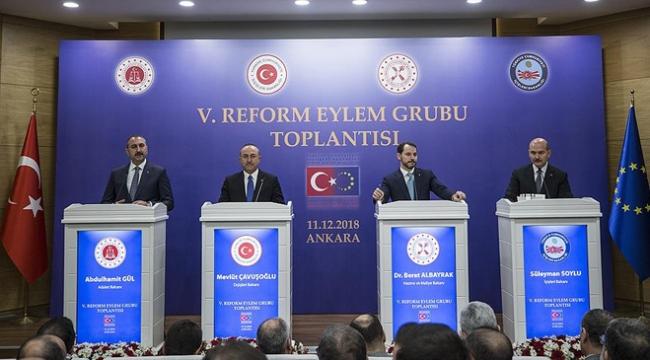 Reform Eylem Grubu Bildirisi açıklandı