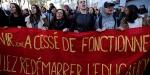 Macronun açıklamalarının ardından Fransada ilk protesto gerçekleşti