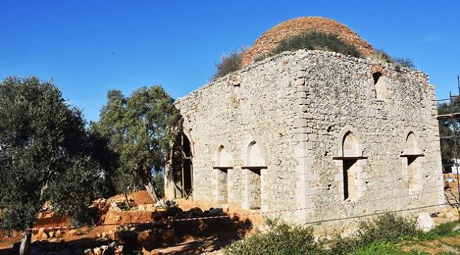 Beçin Antik Kentindeki Yelli Camii 500 yıl sonra ibadete açılıyor