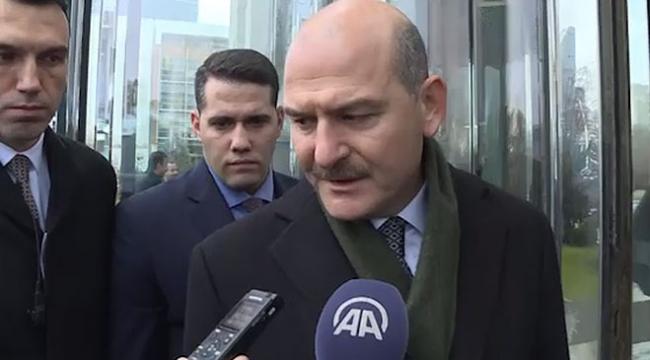 İçişleri Bakanı Süleyman Soylu Rizede