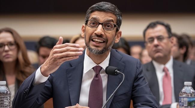 Googleın CEOsu Pichai ABD Kongresine hesap veriyor