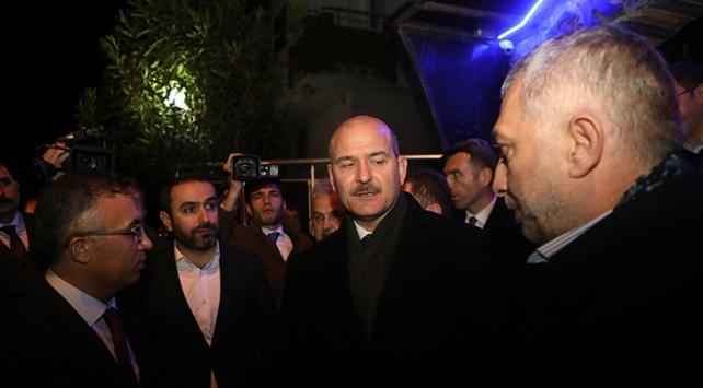 İçişleri Bakanı Soyludan Şehit Rize Emniyet Müdürü Verdinin ailesine taziye