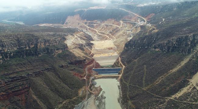 Silvan Barajında iki yıl içinde su tutulacak