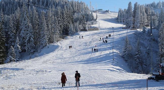 Ilgaz Dağı kayak sezonu için gün sayıyor