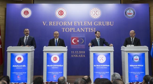 Türkiye, AB reform sürecinde kararlı