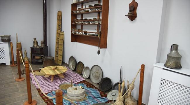 """Kocaelideki """"köy müzesi"""" yoğun ilgi görüyor"""