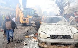 Azezde bomba yüklü araç saldırısı