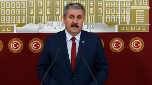 BBP Genel Başkanı Desticiden TRT Habere saldırıya tepki