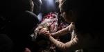 4 yaşındaki şehit Filistinli son yolculuğuna uğurlandı